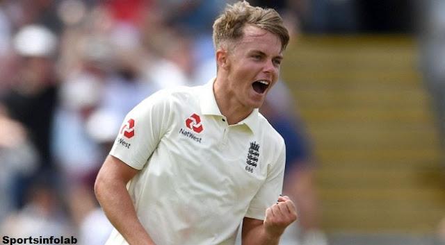 England's Sam Curran wins adolescent cricketer award