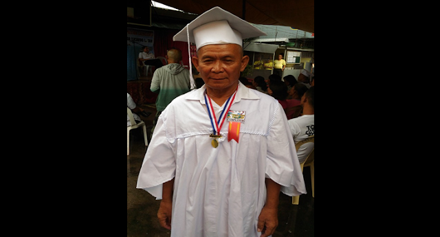 Inmate graduates from elementary at 63 years old