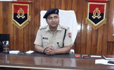 Society Media Important Role In Crime Control Himashu Kumar SP Sultanpur Uttar Pradesh
