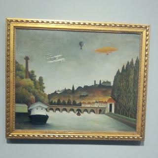 Le Douanier Rousseau, Vue du pont de Sèvres et des coteaux de Clamart, Saint-Cloud et Bellevue