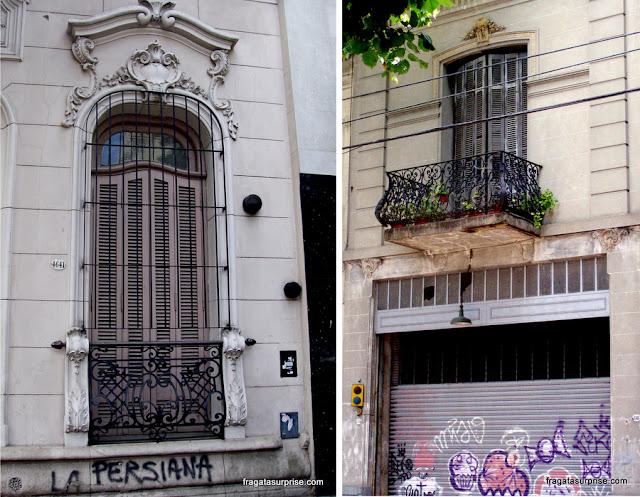 Fachadas do Bairro de Palermo, Buenos Aires