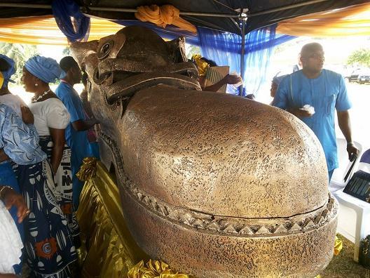 shoe casket nigeria