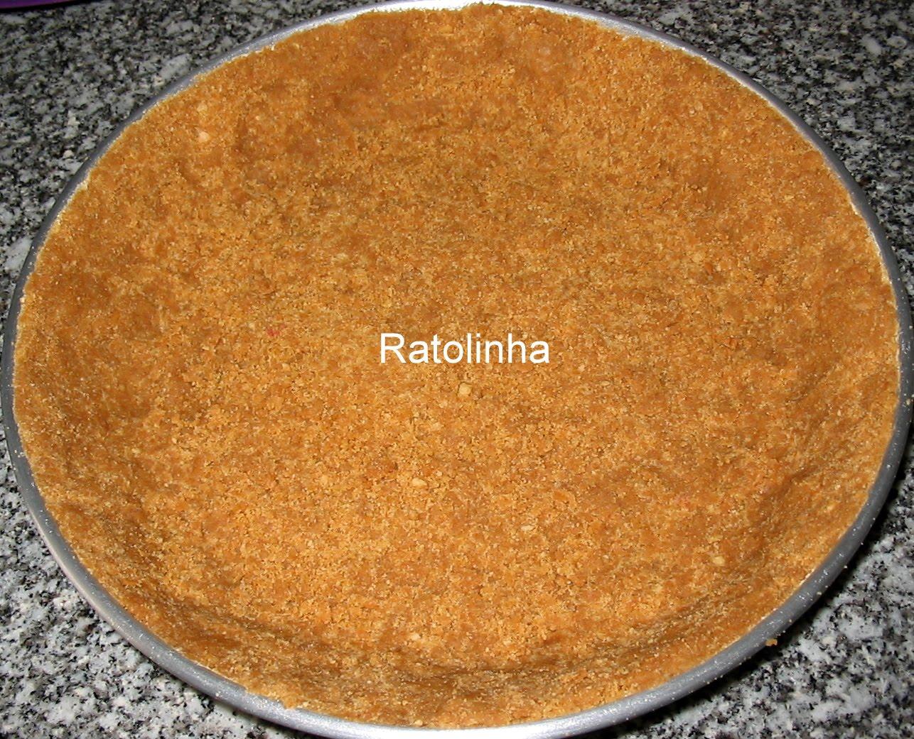 base de bolacha para tarte