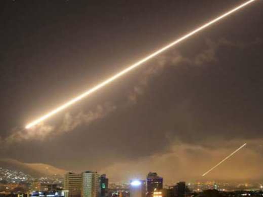Israel launched a missile attack on Syria