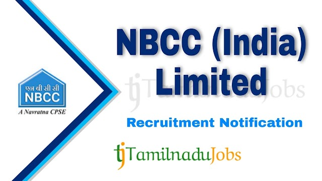 NBCC Recruitment notification of 2021 - for Site Inspector - 120 post