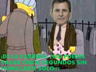Ay, De la Carrera!!