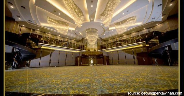 GKM Green Tower gedung pernikahan