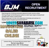 Open Recruitment at Berkat Jaya Motor Surabaya September 2020