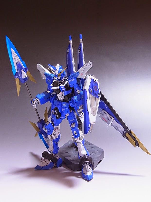 """RG 1/144 Justice Gundam """"Infinite Justice Lightning ..."""