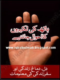 Palmistry Basics Guide and learning booklet in Urdu