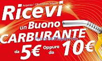 Logo Fai rifornimento con Selenia: ricevi un buono carburante da 5€ o 10€. Premio certo