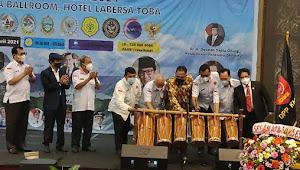 Ketua MPR RI Buka Rapat Kerja Nasional KMDT I di Balige