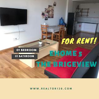 cho thuê căn hộ ehome 5 the bridgeview 1 phòng ngủ