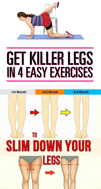 Four Simple And Quick Workouts To Tone Your Legs