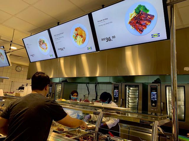 cara order menu makanan yang betul di IKEA