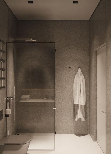 Modern Tiles Bathroom Design