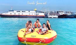 paket wisata open trip pulau harapan