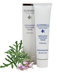 Alchemilla Organic Exfoliating Face Wash Cream