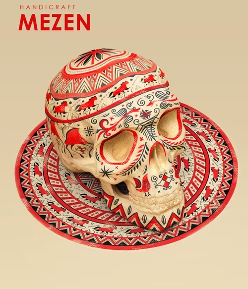 04-Mezen-Style-Sasha-Vinogradova-Russian-Folk-Panting-Skulls-www-designstack-co