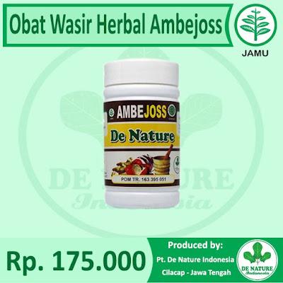 Obat Wasir Ambejoss De Nature