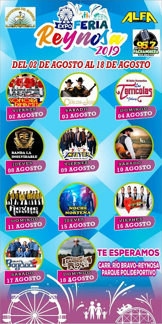 programa Expo feria reynosa 2019