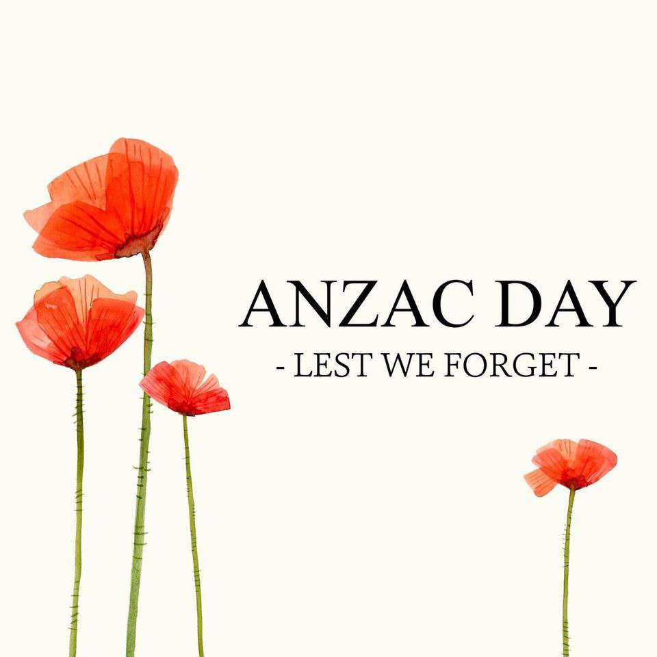 Anzac Day Wishes Awesome Picture