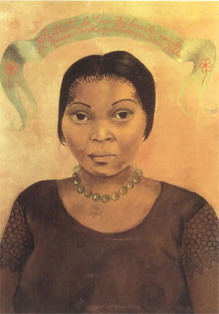 Фрида Кало - Портрет Евы Фредерик. 1931