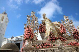 Horario, Itinerario y cultos a la Virgen del Rosario, Patrona de Cádiz