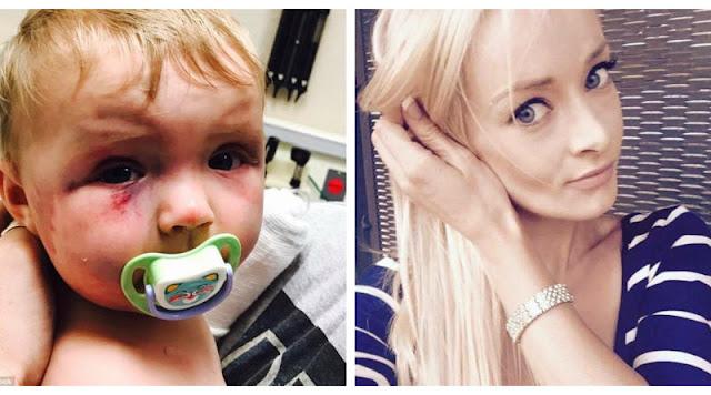 27-летняя мать избила младенца и даже не сядет в тюрьму! Так решил суд…