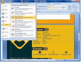 Cara Mengunci File Microsoft Word