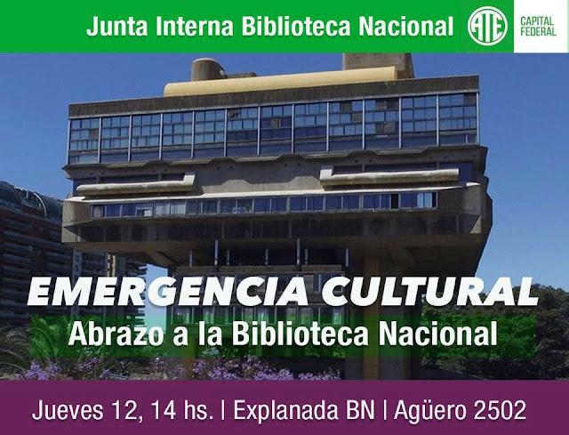 Emergencia Cultural en la Biblioteca Nacional