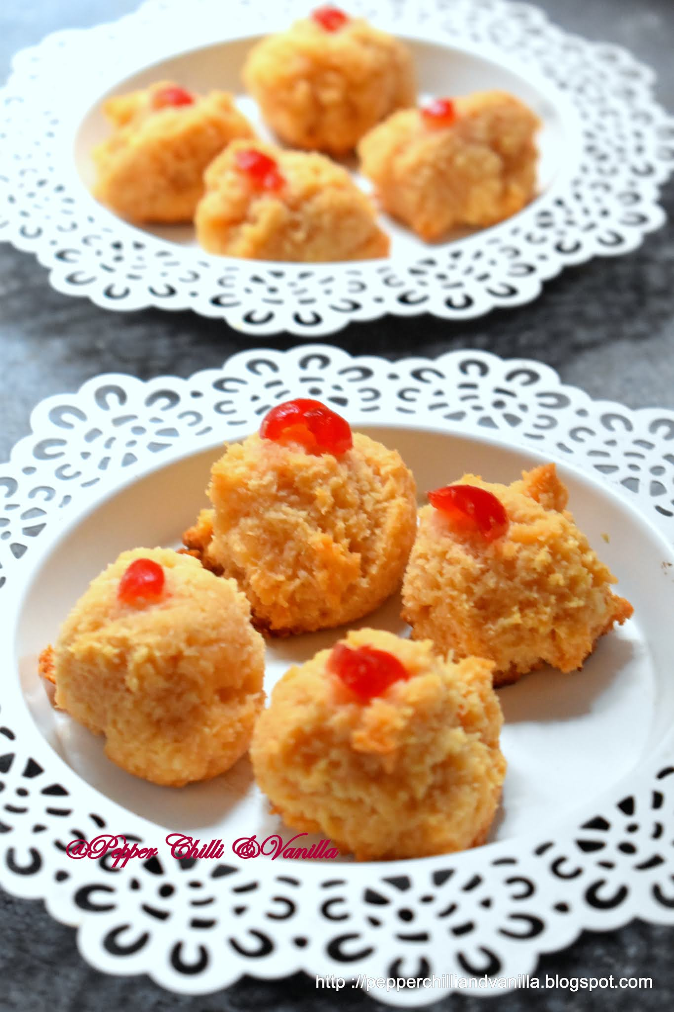 best eggless coconut macaroons
