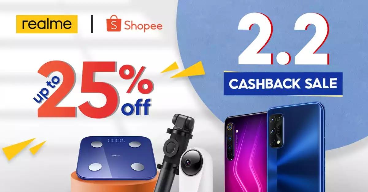 realme x Shopee 2.2 Sale