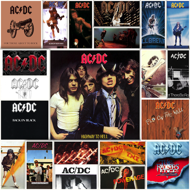 Ac dc – Discografia – 21 albums