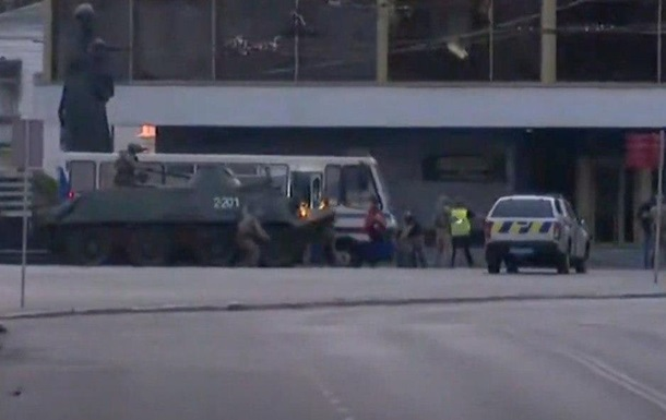 Загарбника автобуса в Луцьку затримали