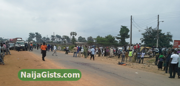 trailer driver killed passerby in akure ondo state