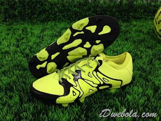 Sepatu Bola Adidas X15.1 Kuning
