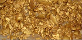 formação e tipos de depósitos de ouro