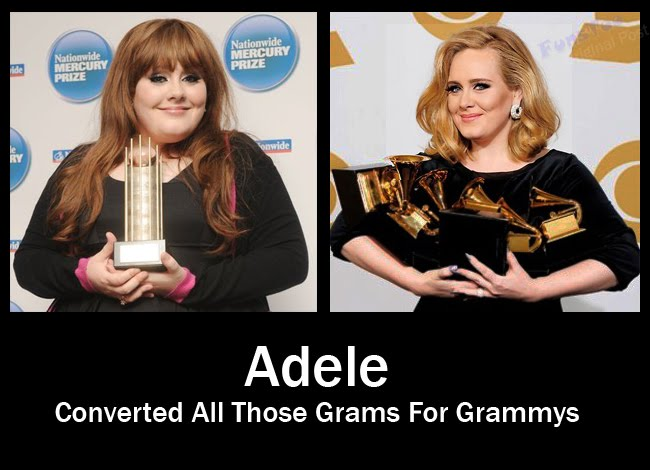 Adele - Converted All Those Grams For Grammys