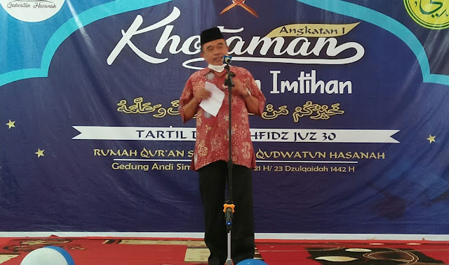 Wisuda Santri RQS Qudwatun Hasanah Diapresiasi Pemkab