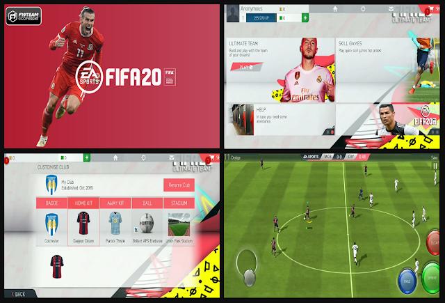 FIFA 16 Mobile Mod FIFA 2020 by Fabix7