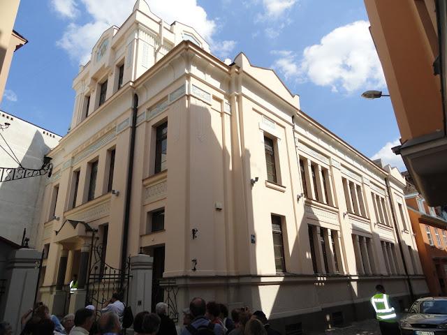 Рижская синагога Пейтау шул
