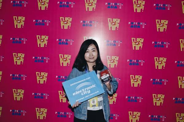 Rising Filmmaker popcon award 2018