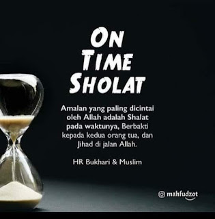 On Time Sholat - Qoutes - Kajian Medina