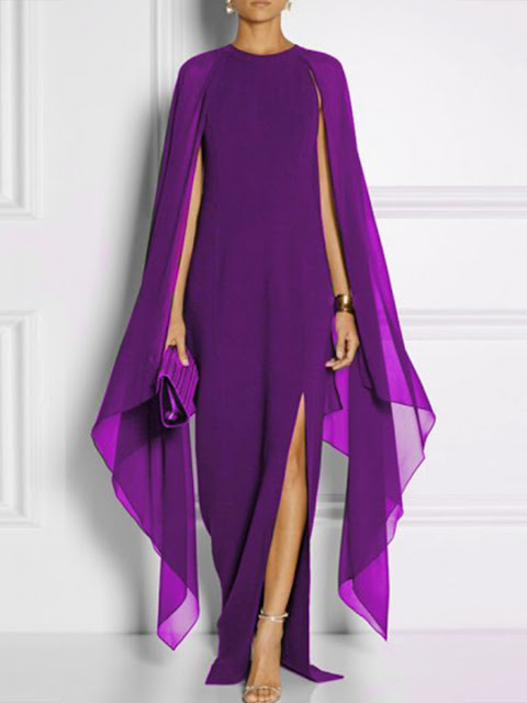 https://www.fashionmia.com/Products/cape-sleeve-high-slit-plain-chiffon-maxi-dress-194567.html