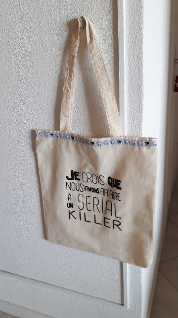 tote bag la cité de la peur serial killer