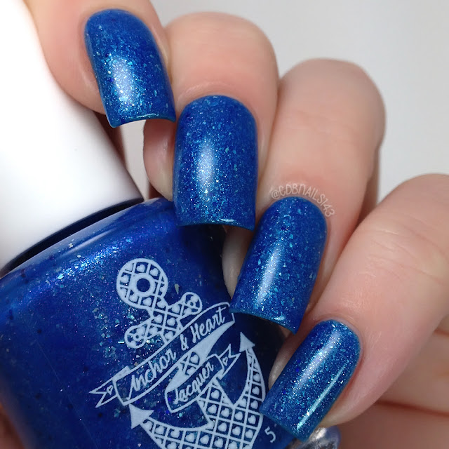 Anchor & Heart Lacquer-Winter Blues