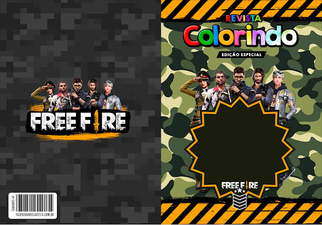 Free Fire: Free Party Printables.