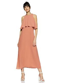 Women's-Symbol-Synthetic-Empire-Dress